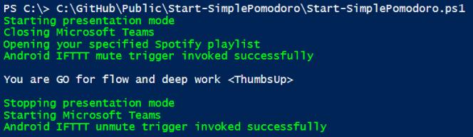 Start-SimplePomodoro
